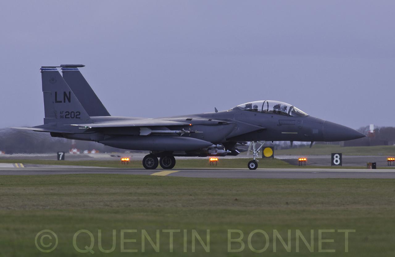 USAF McDonnell Douglas F-15C LN202