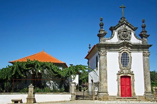 Capela de Nossa Senhora da Conceição ou Capela da Casa do Pátio - São Lourenço de Ribapinhão - Portugal