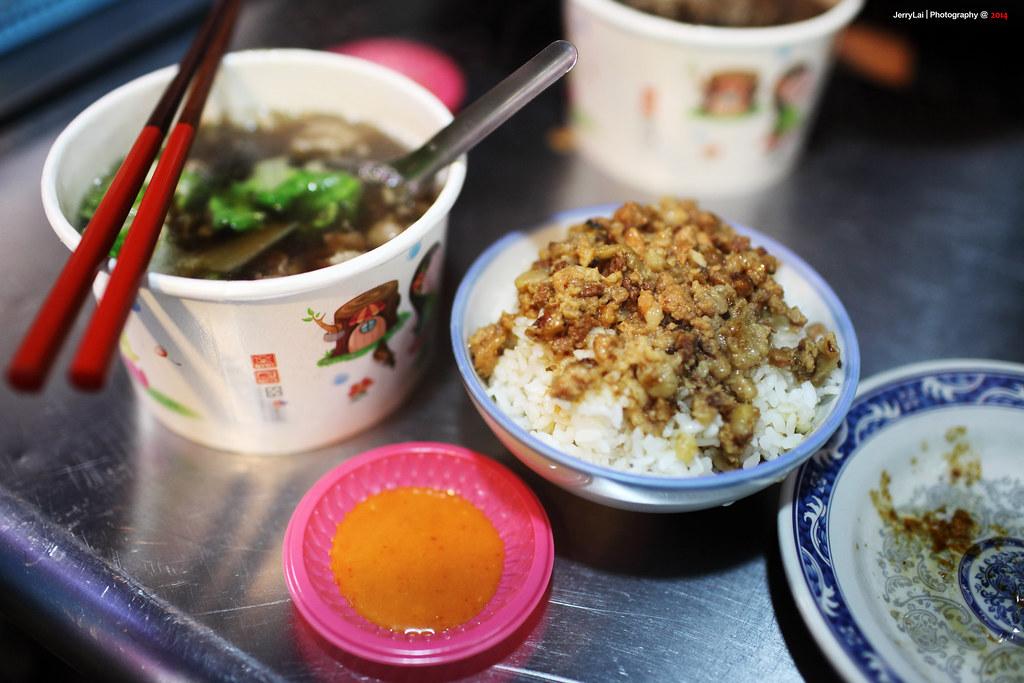 羅東夜市 羊肉湯+滷肉飯=滿足!!