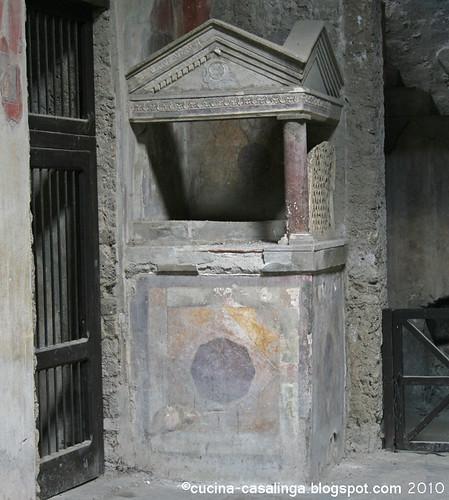 Casa del Menandro Altar