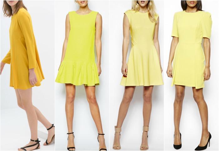 vestido amarillos