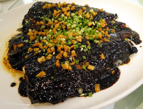 Steamed Fish Head with Black Bean Sauce. Man Fu Yuan. A Taste of Nostalgia - April 2014 menu