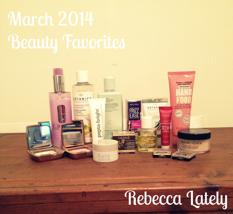 March Beauty Favorites 1