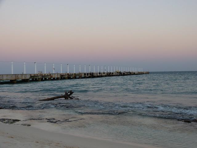 Playa del Carmen beach sunset