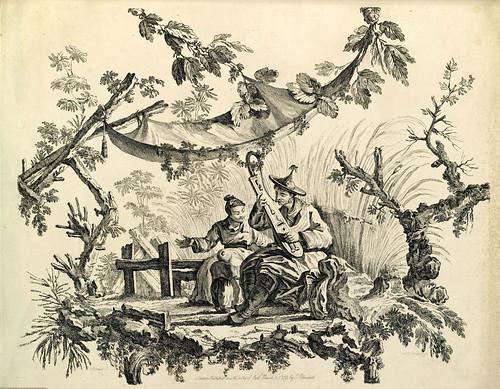 017- Series Chinas-Oeuvre gravé de Jean Pillement..1767-Vol 4- INHA