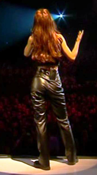 Shania Twain In Leather Pants Flickr Photo Sharing