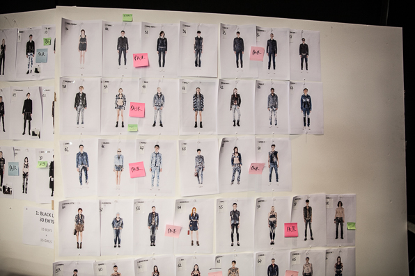 Denim collection at Diesel Fall Winter 2014