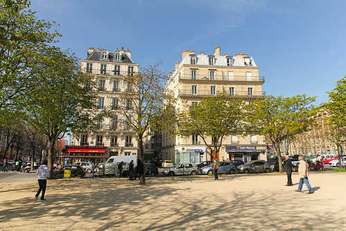 Place de la Nation - Paris (France)