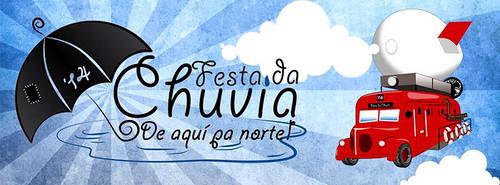Ribeira 2014 - Festa da Chuvia - cartel
