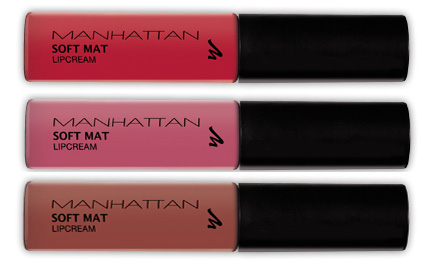 Manhattan Soft Mat Lipcream