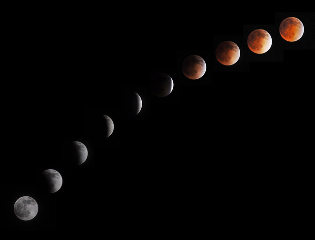 Lunar Eclipse over Oregon