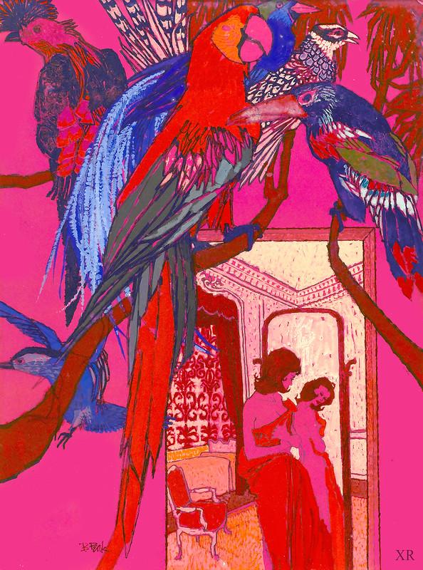 ... parrots - Bob Peak