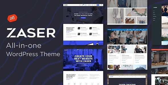 Zaser Pro WordPress Theme free download