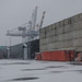 Cranes and containers by AstridWestvang