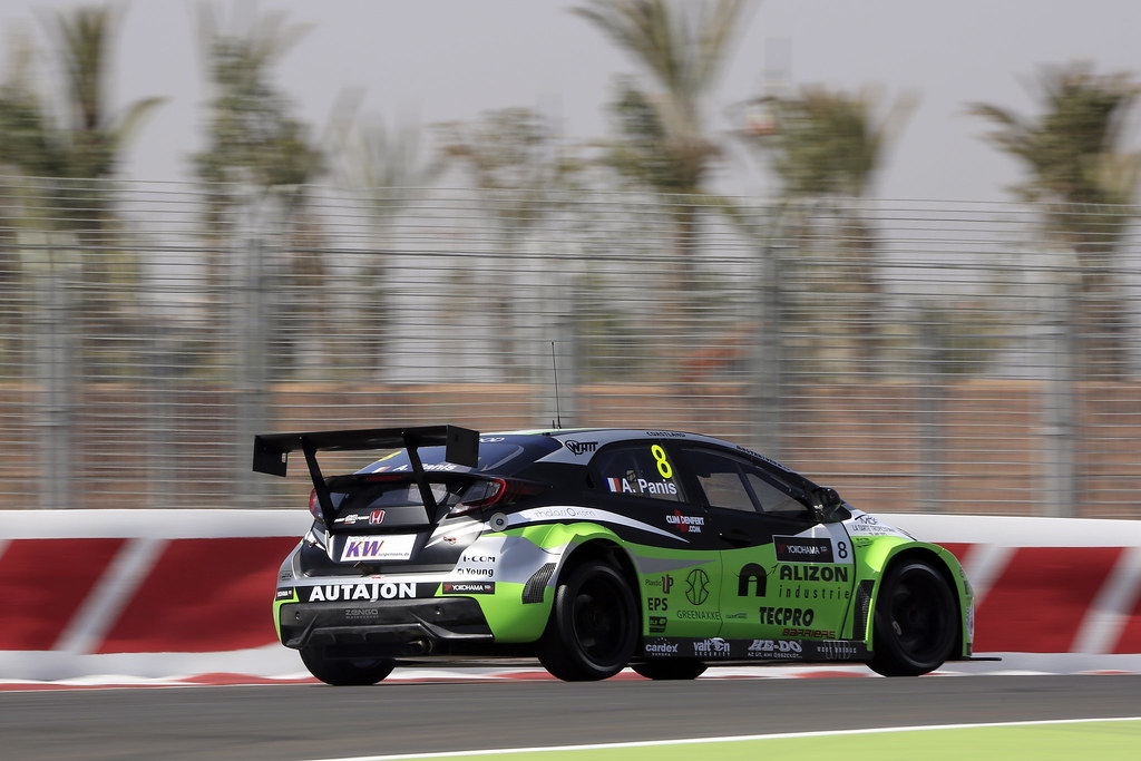08 PANIS Aurélien (fra) Honda Civic team Zengo Motorsport action during the 2017 FIA WTCC World Touring Car Race of Morocco at Marrakech, from April 7 to 9 - Photo Paulo Maria / DPPI