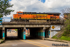 BNSF 8082 | GE ES44C4 | BNSF Thayer South Subdivision