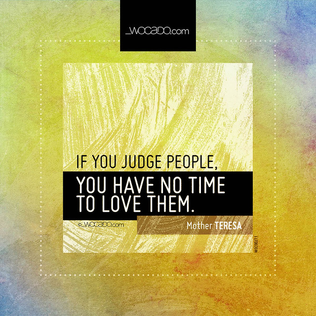 If you judge people by WOCADO.com