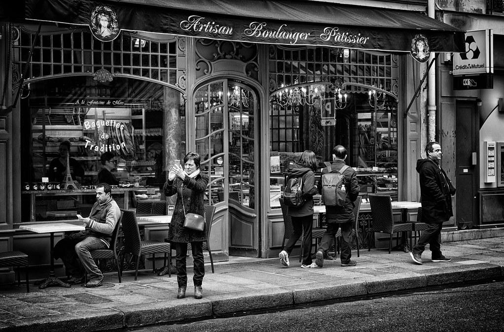 Paris : La boulangerie