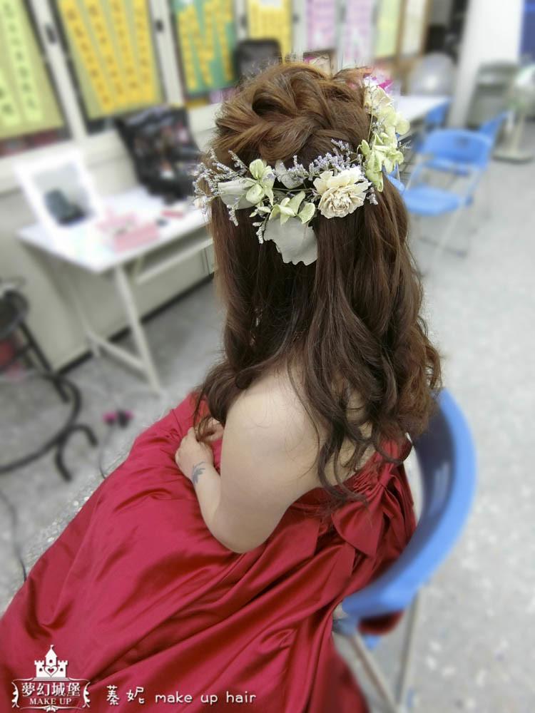 【新秘蓁妮】bride姿彣 訂結婚造型 / 烏日活動中心