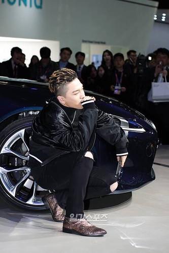 Taeyang Lexus Seoul Motor Show So Goode 2017-03-30 (9)