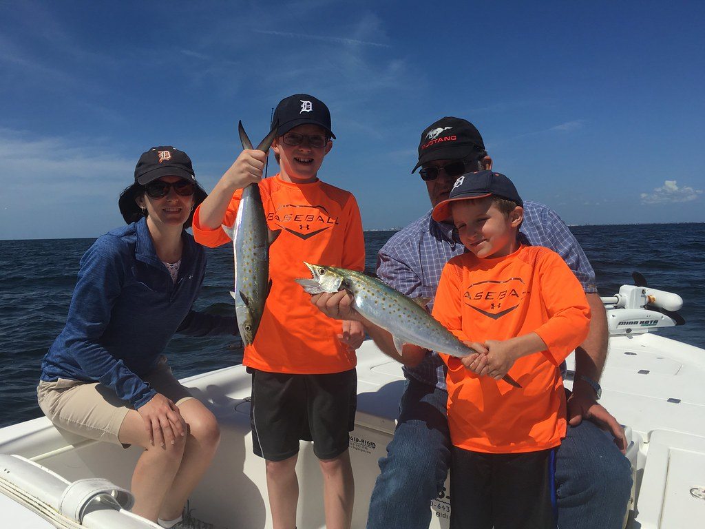 Spanish Mackerel Tampa www.TampaFishingCharters.com 813-245-4738