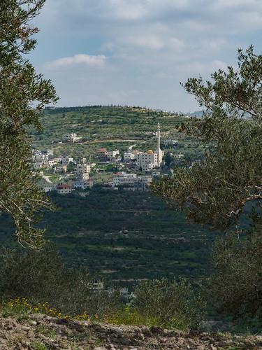 em10 israel landscape mft microfourthirds mosque omd olympus samaria sebastiye viewpoint
