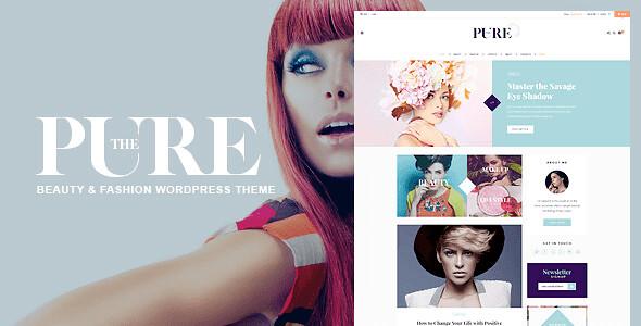 Pure WordPress Theme free download