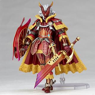 紅蓮的帝王!Vulcanlog 022 《魔物獵人》 炎王龍X套裝 男劍士 ハンター男剣士 カイザーXシリーズ