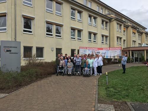 AWO Saarland: Seniorenzentrum Nalbach gegen Rassismus