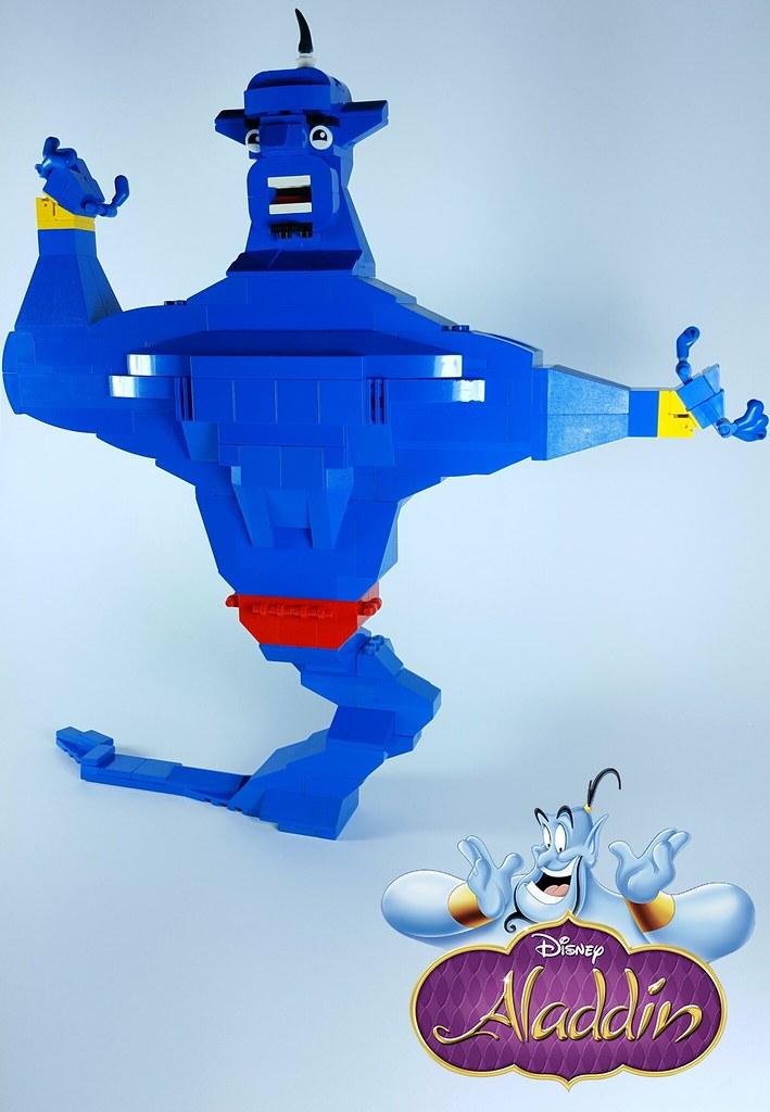 Genie Aladdin (custom built Lego model)