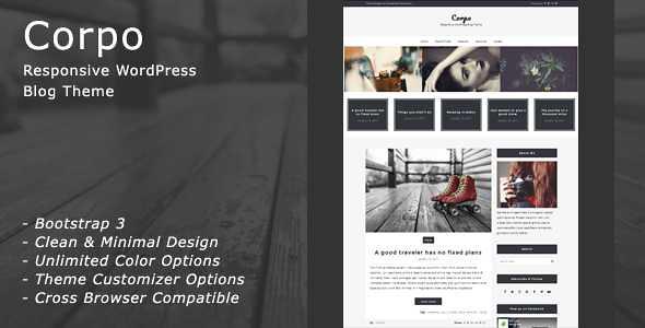 Corpo WordPress Theme free download