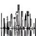 hardware city skyline by auntneecey