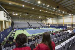 Eröffnung Tennishalle, 8. April