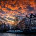 Amsterdam Sunset 阿姆斯特丹的落日 by T.ye