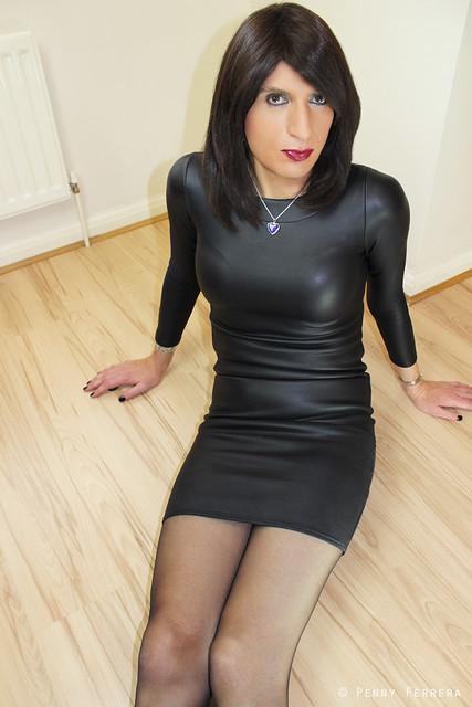 Rubbery dress