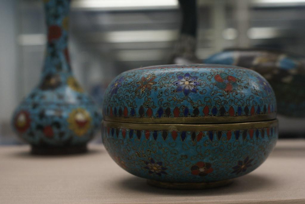 Objets de la collection du musée asiatique de Gênes.