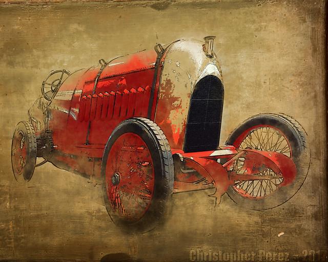 Beast of Turin ~ Fiat S76 ~ l'art et la voiture