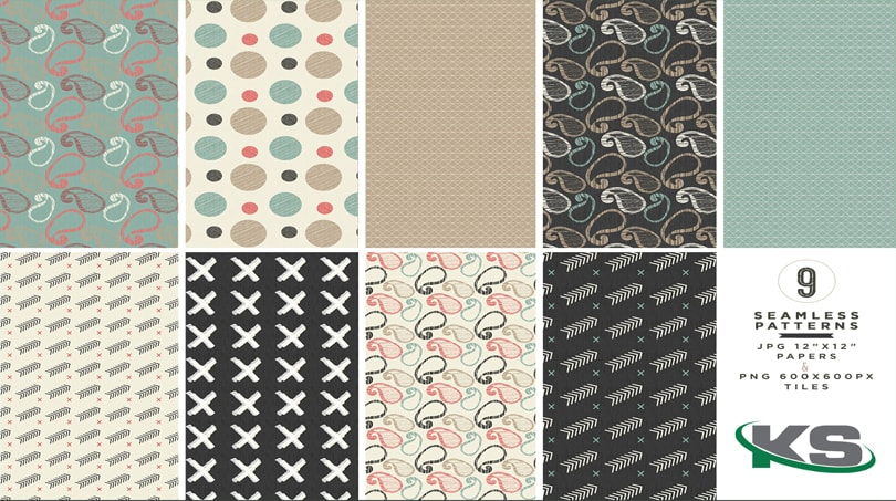 Patterns Seamless - 9 Mẫu Patterns Seamless Đẹp