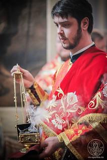 Литургия в Иверском монастыре 465