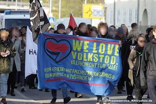 2017.04.20 Nauen Antifa Demo gegen Neonazikundgebung zum 20. April (1)