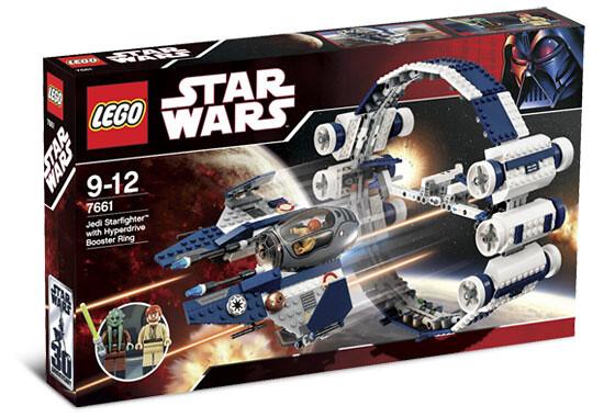 LEGO 75191【星際大戰系列】 絕地戰機&超空間跳躍引擎 Jedi Starfighter with Hyperdrive