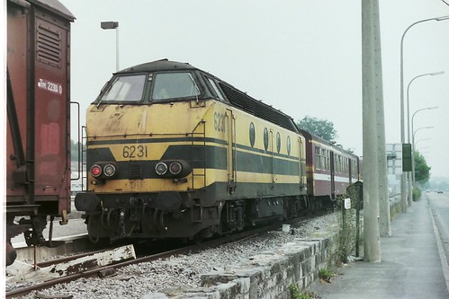 NMBS 6231 at Couvin