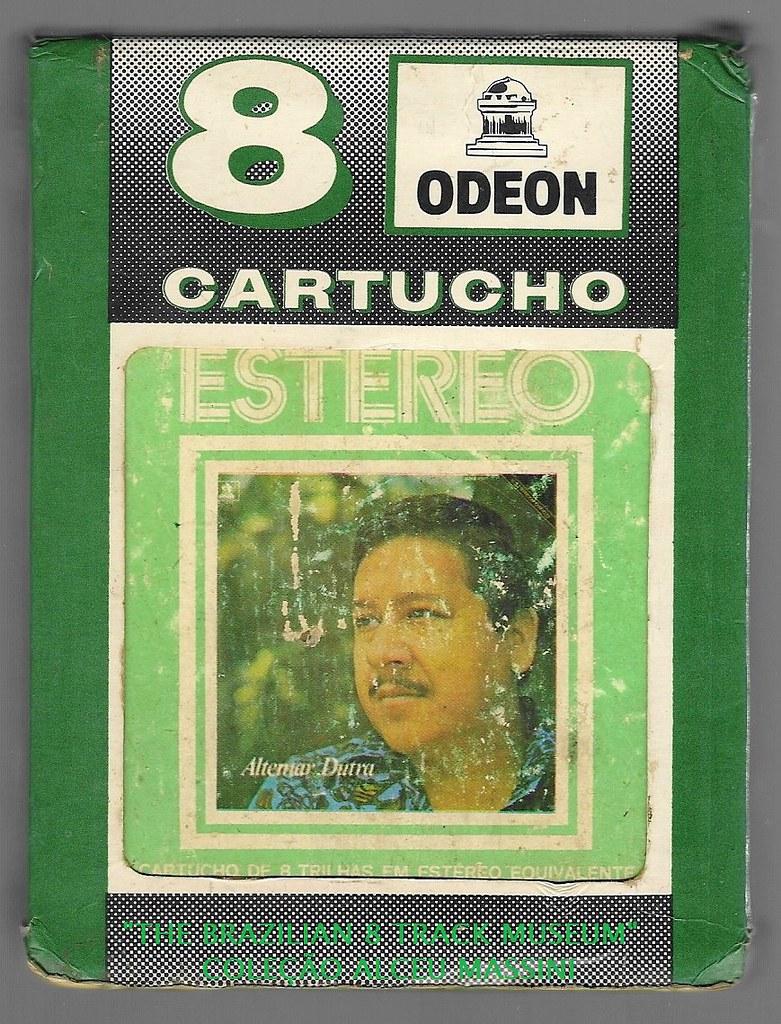 1972 - Altemar Dutra - brazilian 8 track - fita cartucho de 8 pistas
