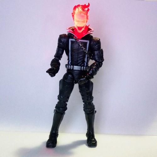 O Motoqueiro Fantasma... Novo integrante da minha coleção Figuras de Ação... #figurasdeação #soucolecionador #motoqueirofantasma