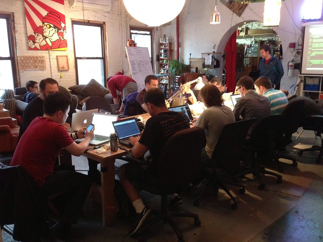 Pebble class at NYC Resistor
