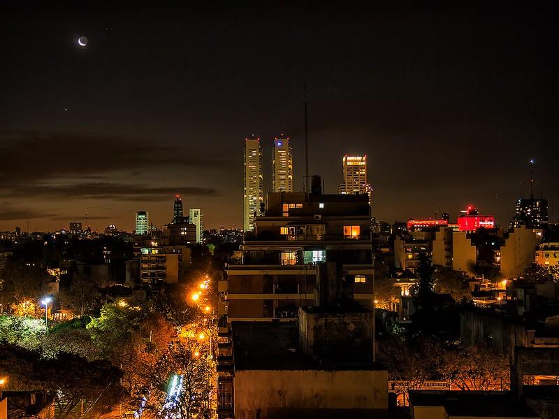 Noche en palermo - Night in Palermo