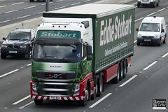 Volvo FH 6x2 Tractor - PX11 BXA - Evie Louise - Eddie Stobart - M1 J10 Luton - Steven Gray - IMG_9938