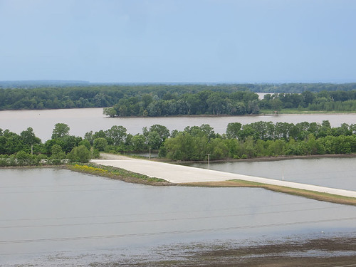 Confluence of the Missouri and Mississippi