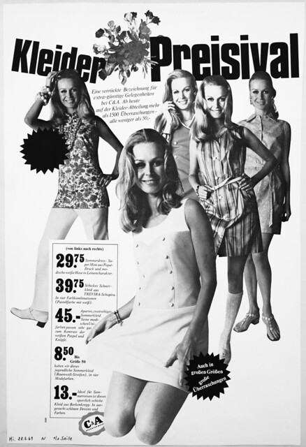 C & A Anzeige von 1969