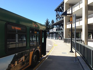 KCM Rt 347 Layover at Mountlake Terrace Transit Center